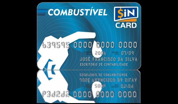 Cartão SiN CARD Gestão de Frota