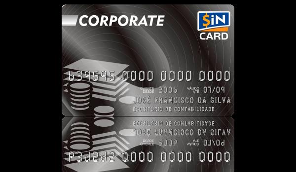 Cartão SiN CARD Corporate