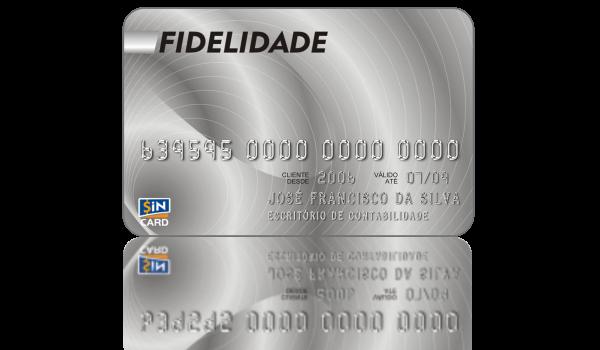 Cartão SiN CARD Fidelidade