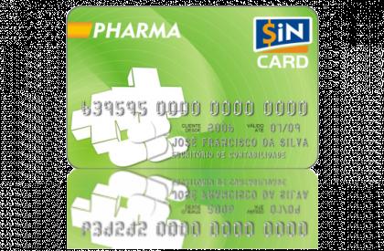 Cartão SiN CARD Pharma