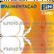 Cartão SiN CARD Alimentação